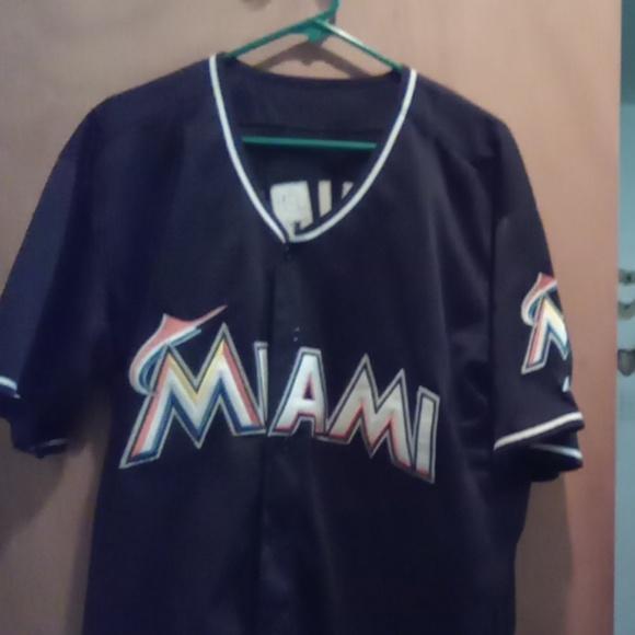 buy online 4e3fd 48a59 Hanley Ramirez Miami Marlins jersey